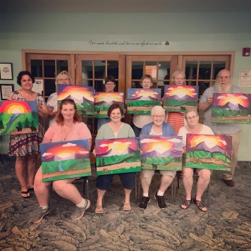 Paint Party!